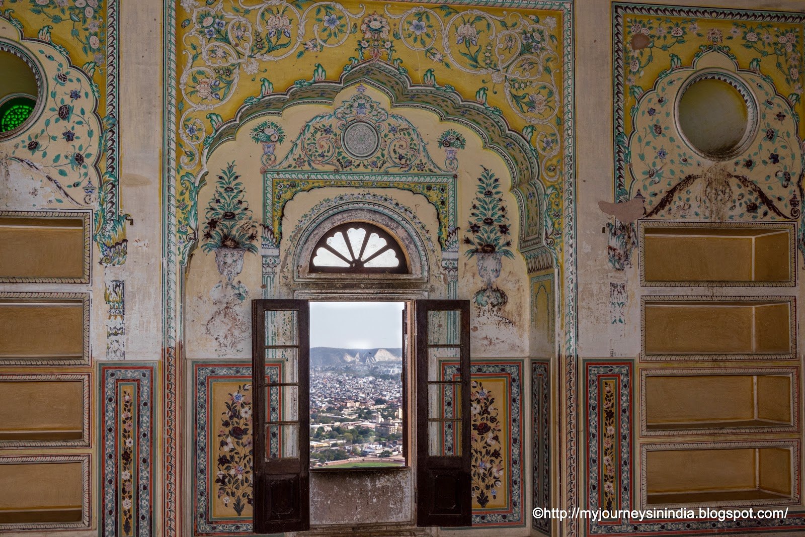 Windows at Madhavendra Palace Jaipur