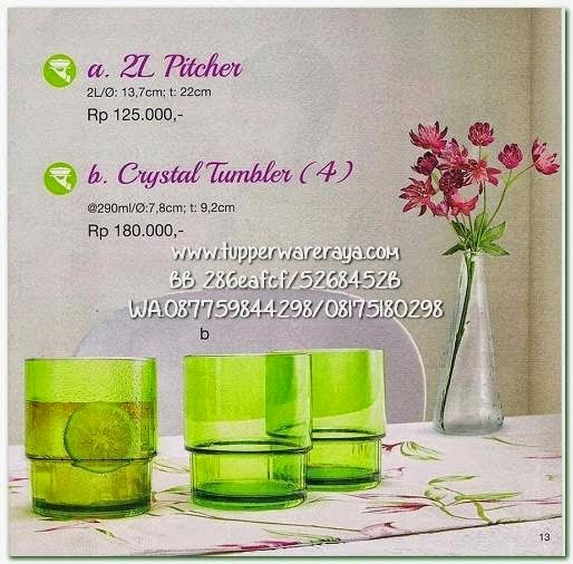 Tupperware Promo April 2015 Crystal Tumbler