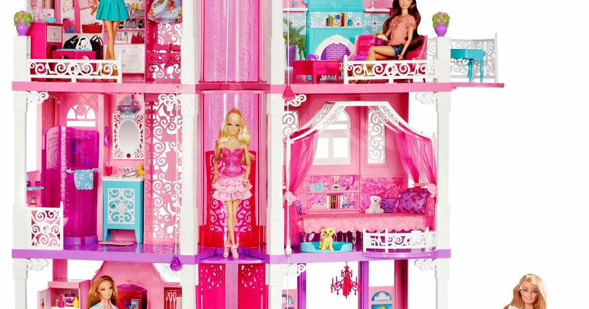 Idee regalo vederli e 39 volerli la nuova casa dei sogni di barbie del 2013 il regalo giusto - Cosa regalare per una casa nuova ...