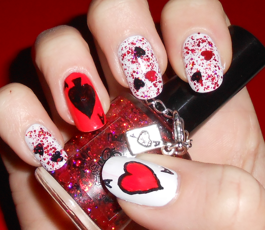My mint nails queen of hearts nail lacquer uk queen of hearts nail lacquer uk prinsesfo Choice Image