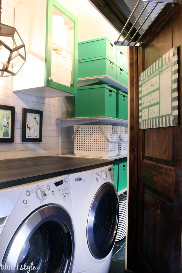 Organizing With Style Tips To Make The Most Of A Small Laundry