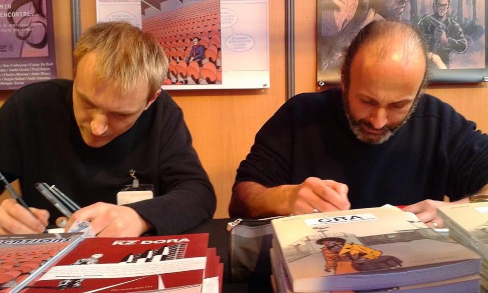 Voir l'album photos sur Flickr : Des ronds dans l'O au festival BD d'Angoulême - janvier/février 2015