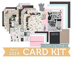 April Card Kit