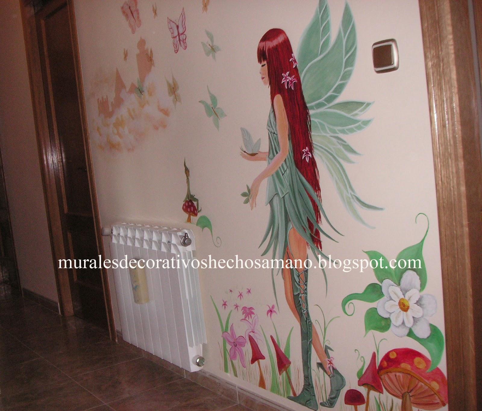 Diarios murales y cuadros hada for Como decorar un mural
