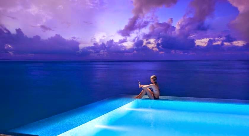 TravelAndLeisure.com Cites Conrad Maldives Rangali Island among World's Coolest Plunge Pools