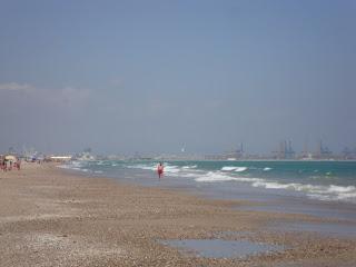 Sea waves photo in El saler Beach - Valencia - Spain