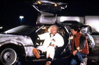 Fotograma de la película Regreso al futuro