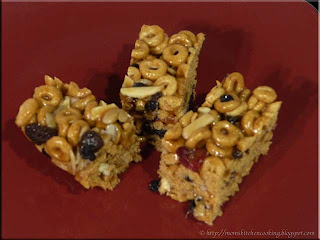 banana nut cheerios energy bars