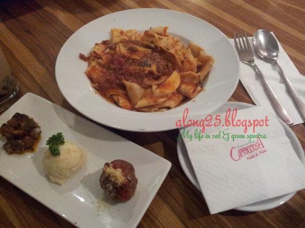 blog along25 restoran capricciosa restaurant review blog makan pasta pizza makanan itali italian food sedap best sunway pyramid halal jakim