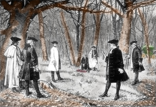 Aaron Burr Alexander Hamilton duel