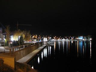 Набережна Рошен вночі