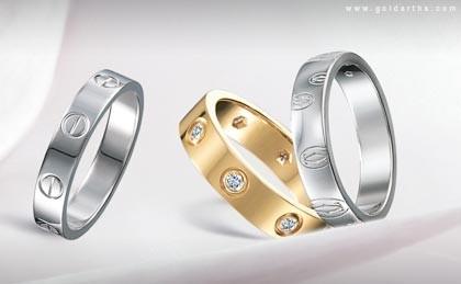 Jewelry World Cartier Wedding Rings
