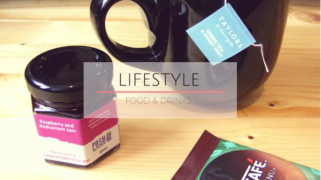 Jam, coffee, mug