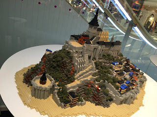 LEGO Mont Saint-Michel Side