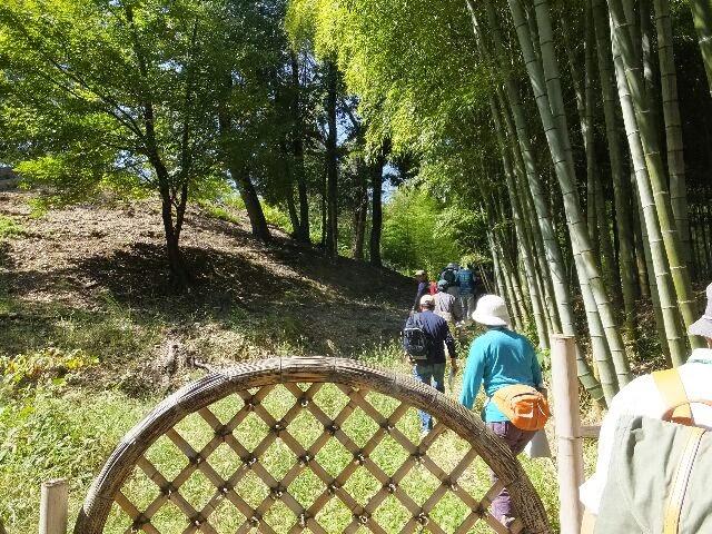 寺戸大塚古墳は立派に保存されていた。