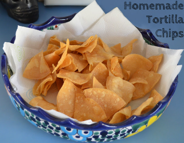 to the sea: Homemade Tortilla Chips