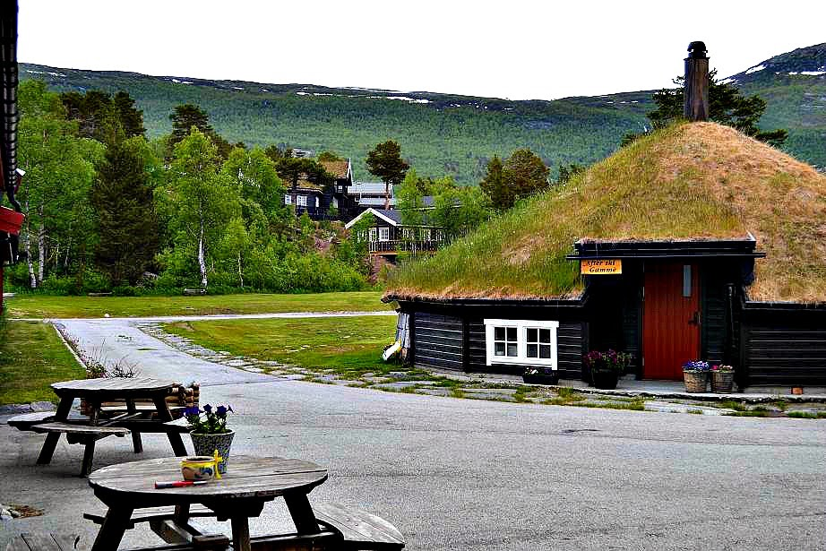 Norwegian hut