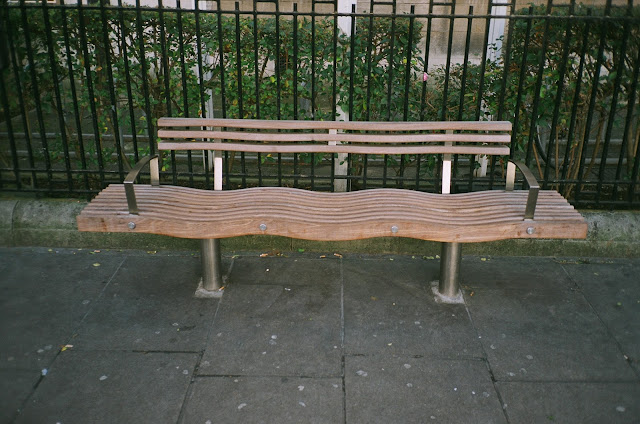London bench VIncent Square