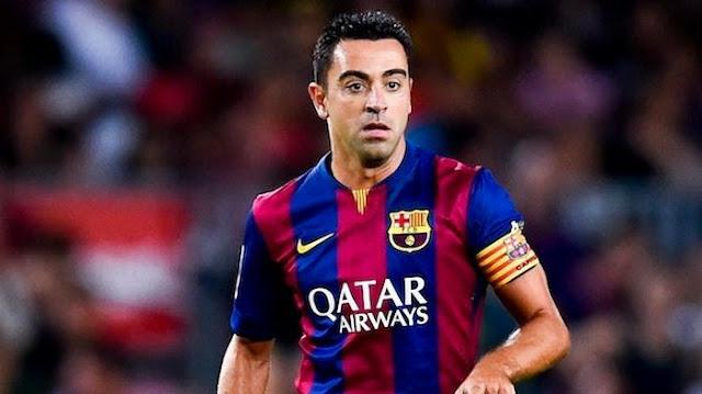 Fans Setia Barcelona Gelar Perpisahan untuk Xavi Hernandez
