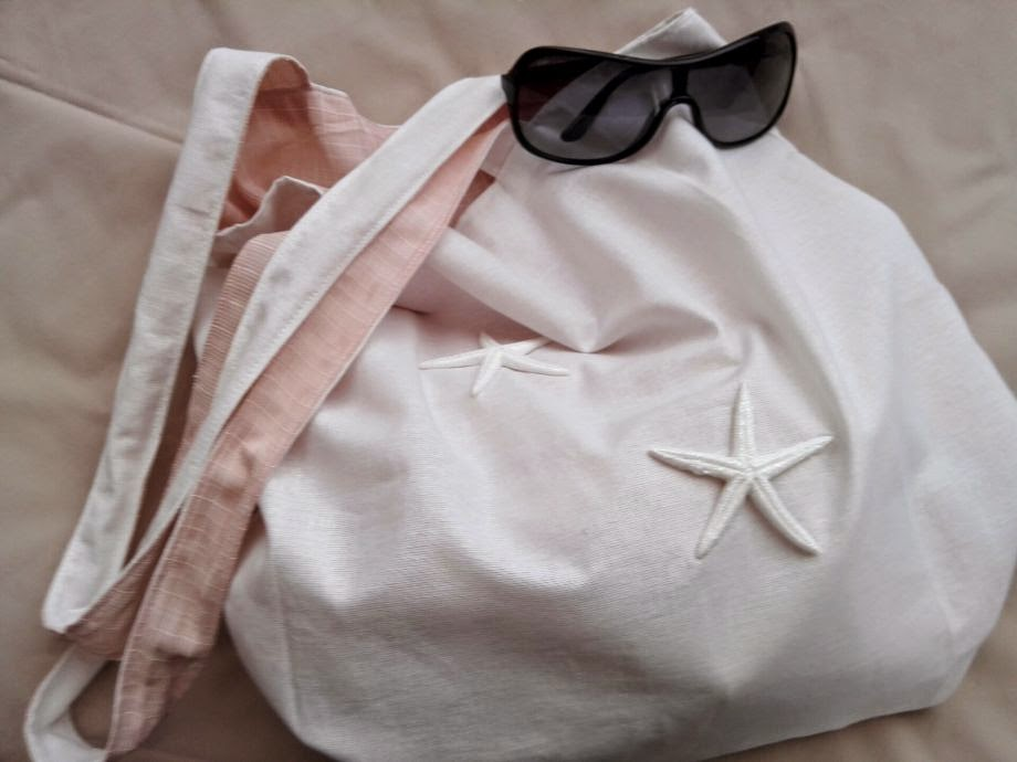 zet.com denizyıldızlı plaj çantası