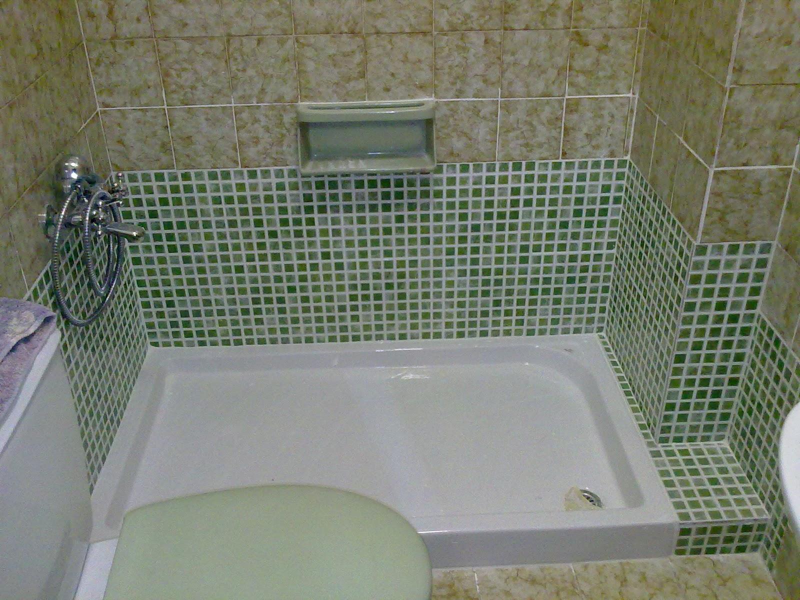 Fontaneria ro ma sustitucion de ba era por ducha - Sustitucion de banera por plato de ducha ...