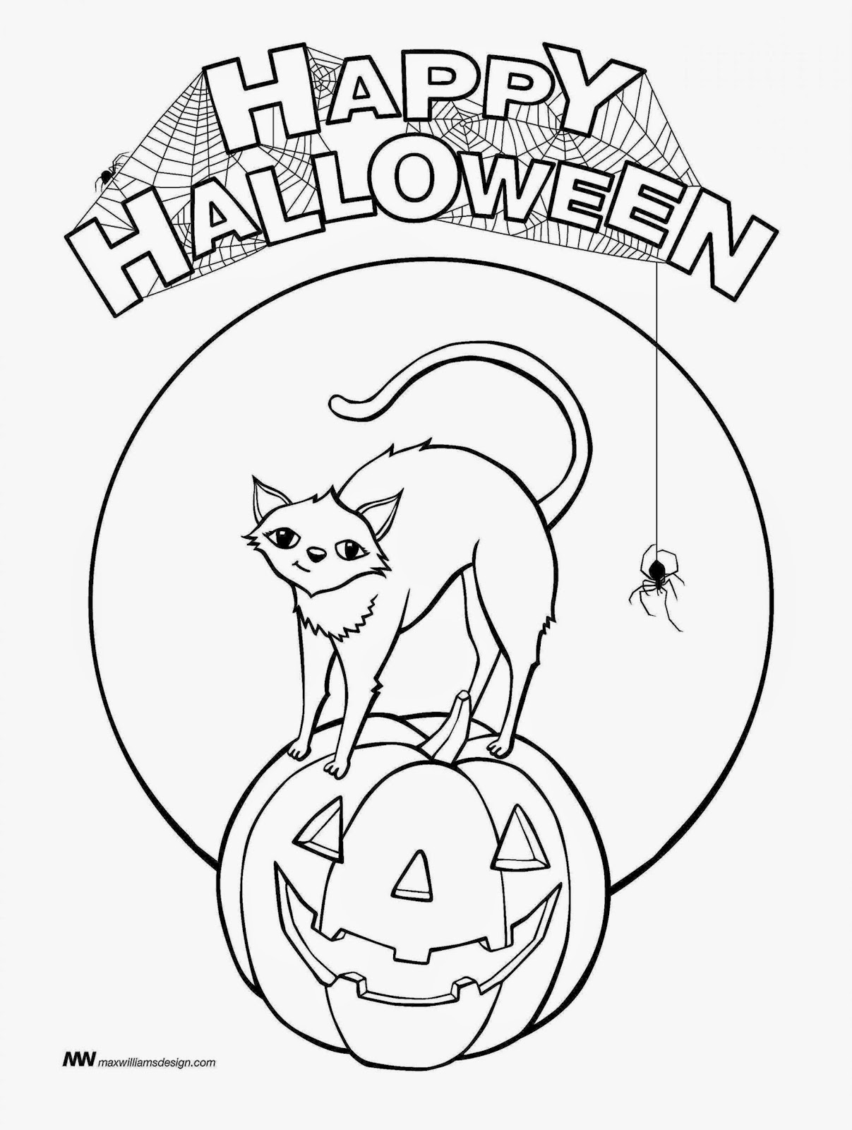 Halloween pictures to color and print free coloring pictures for Printable halloween coloring pages
