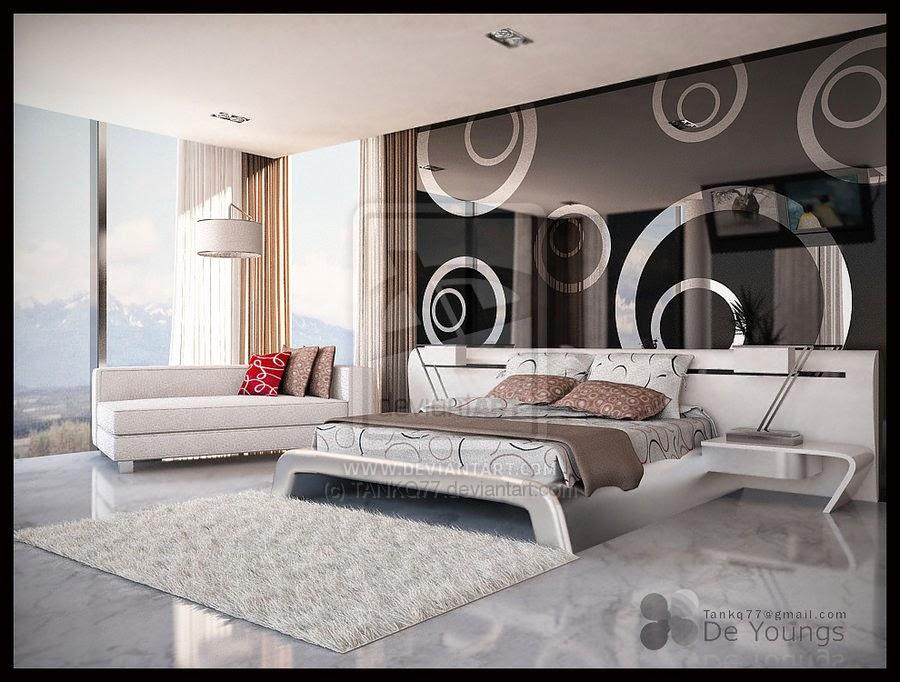 Panduan Bikin Design Interior Kamar Tidur Utama Yg Modern Serta Nyaman