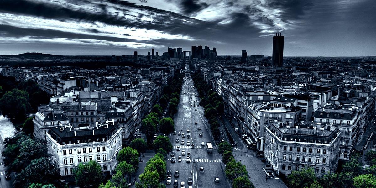 Paris Cityscapes l 300+ Muhteşem HD Twitter Kapak Fotoğrafları