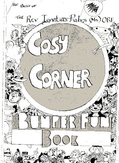 Cover: The Rev. Ignatius Pubes (Mrs) O.B.E.'s Cosy Corner Bumper Book