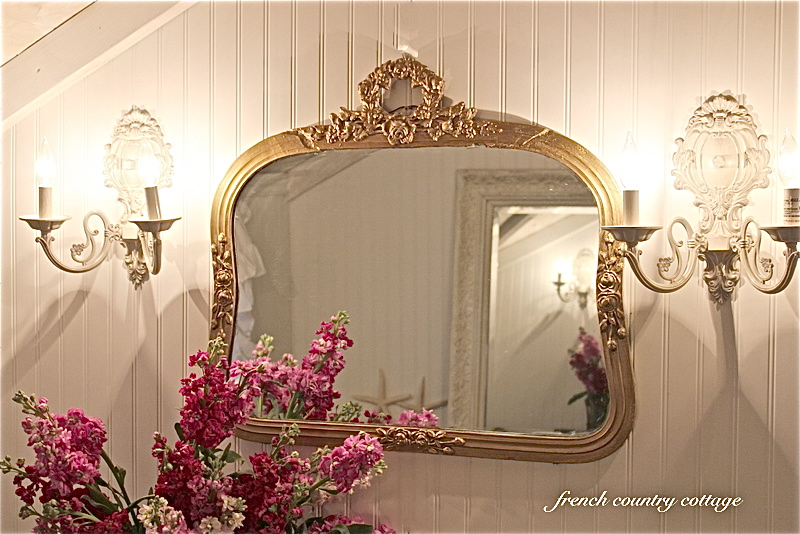 French Country Vanity Lights : Vanity & Details - FRENCH COUNTRY COTTAGE