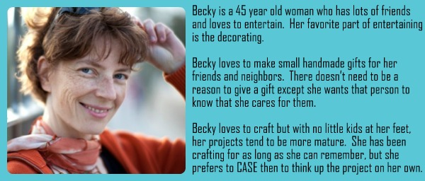 Fictional Persona Becky