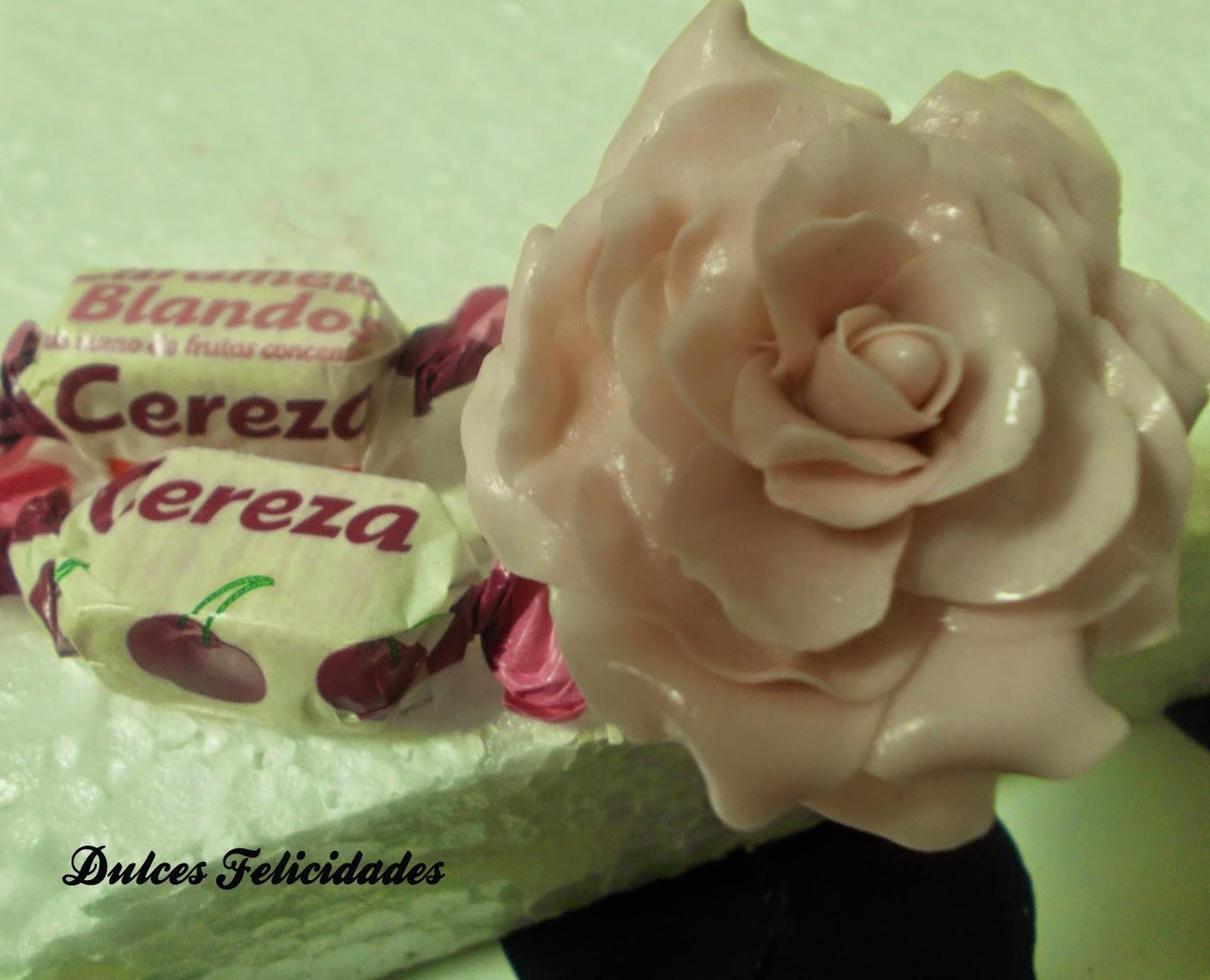 Flores de caramelo