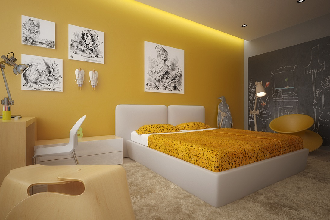Colorful Kids Rooms: Colorful Kids Room Design Ideas