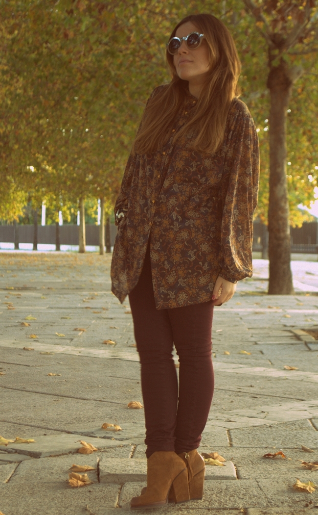 autumn in the 60s LOOK