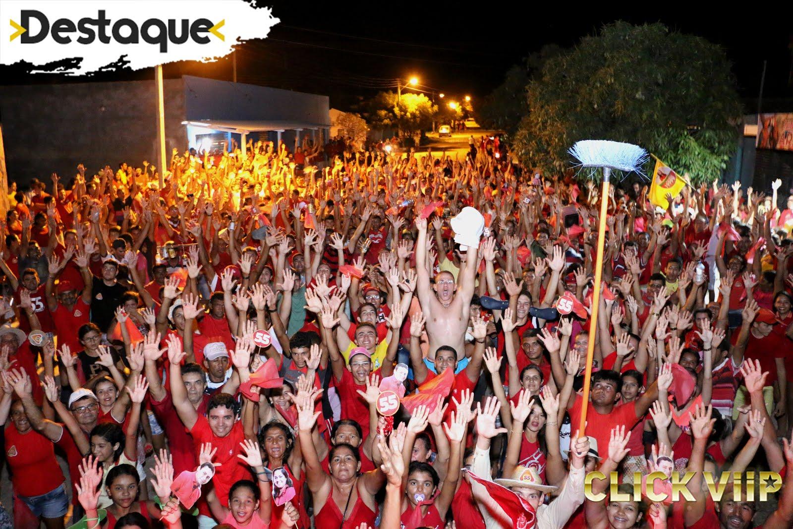 """Inauguração do comitê """" NINHO DAS ARARAS """" em Paraú/RN"""