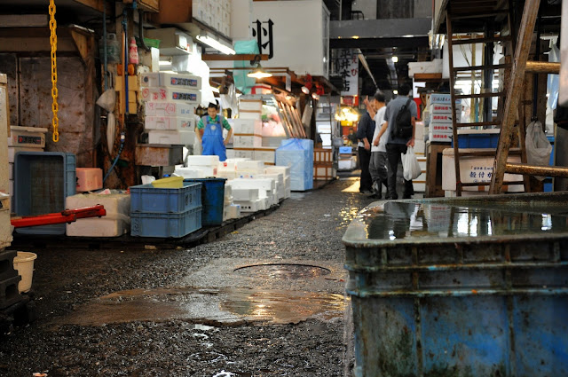 Walk through Tsukiji
