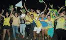 População de Zabelê realiza grande manisfestação de apoio a Cássio
