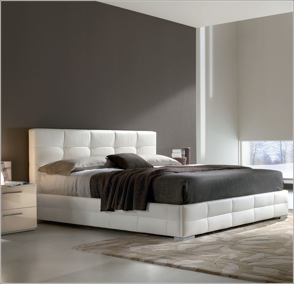 lits rembourr s pour un look chic votre chambre. Black Bedroom Furniture Sets. Home Design Ideas