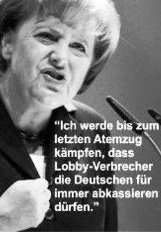 Angela Merkel will die Deutschen noch weiter in die Armut treiben