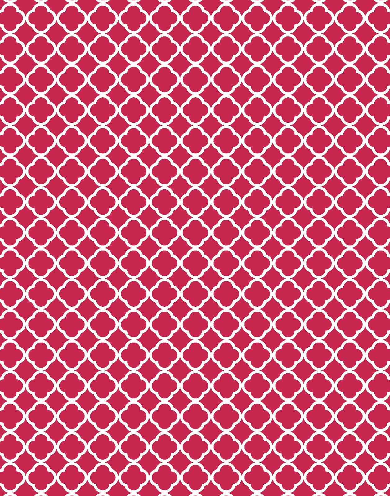 quatrefoil pattern background - photo #9