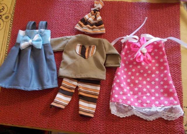 Ubranka dla lalki na zamówienie