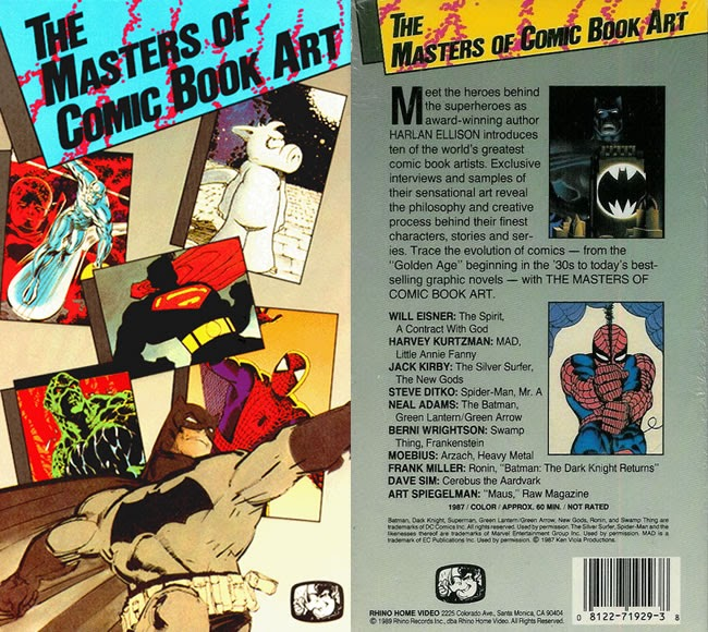 Art Of Comics And Manga: A MOMENT OF CEREBUS: The Masters Of Comic Book Art