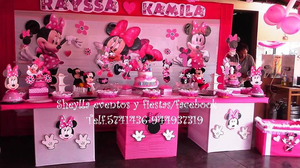 Minnie Decoraciones Fiestas Infantiles ~ Decoraci?n, tortas, fiestas infantiles, Minnie, Frozen, Sofia, Mickey