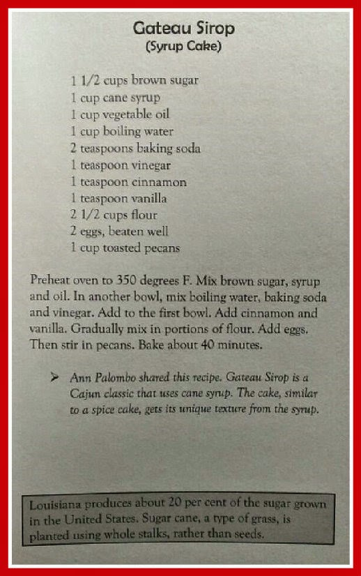 syrup cake recipe