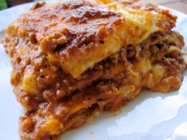 Crock Pot Lasagna {Lightly!} | Becky Cooks Lightly