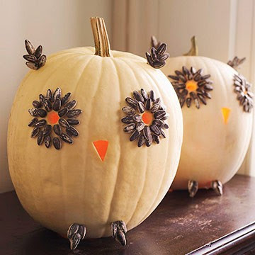 Inspire bohemia thanksgiving tablescapes pumpkins and for How to decorate a pumpkin for thanksgiving