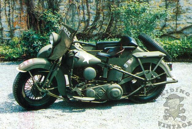 Harley-Davidson's Military Model U ~ Riding Vintage