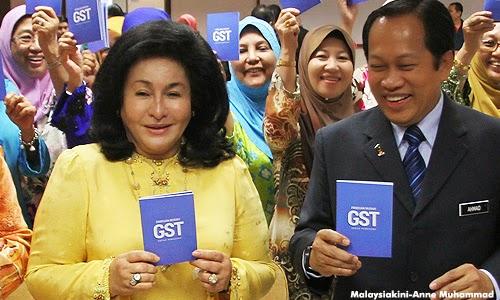 Rambut Rosmah tarik perhatian dunia