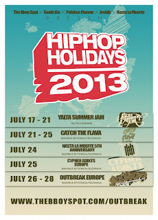 HIP HOP HOLIDAYS 2013 - Europe