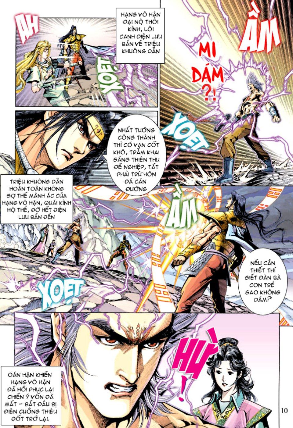 Thiên Tử Truyền Kỳ 5 - Như Lai Thần Chưởng chap 212 - Trang 10